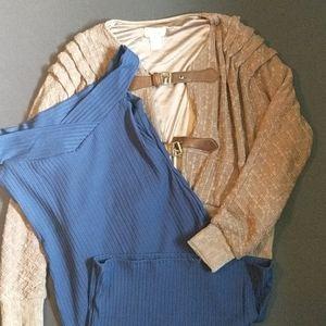 Freeway lace jacket and hot kiss blue dress